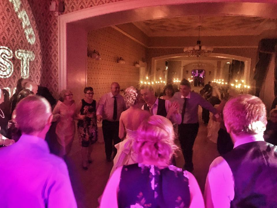PLAYLIST with Kirsten & Richard at their wedding in the Belfast Castle on the 29th July 2017