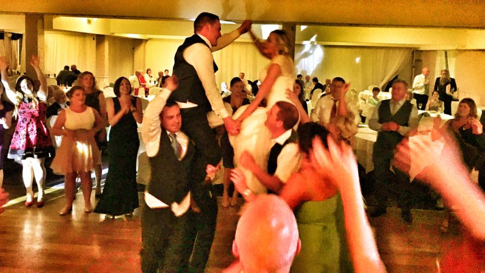 PLAYLIST with Caroline & Anthony at their wedding in Breaffy House Hotel on the 9th September 2017