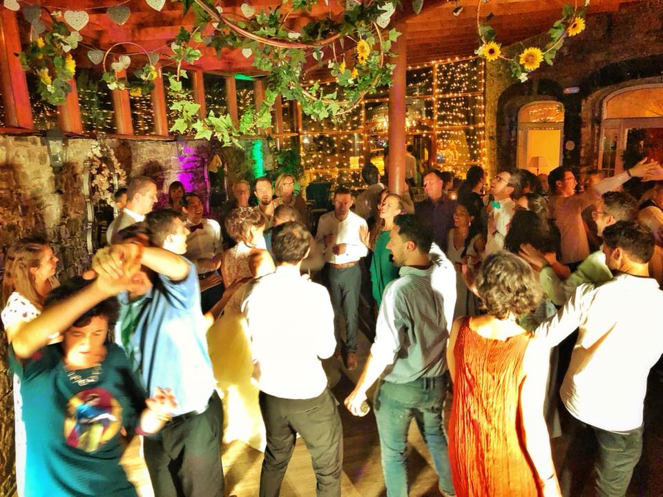 PLAYLIST with Celestine & Brice at their wedding in Boyne Hill House on the 7th July 2018