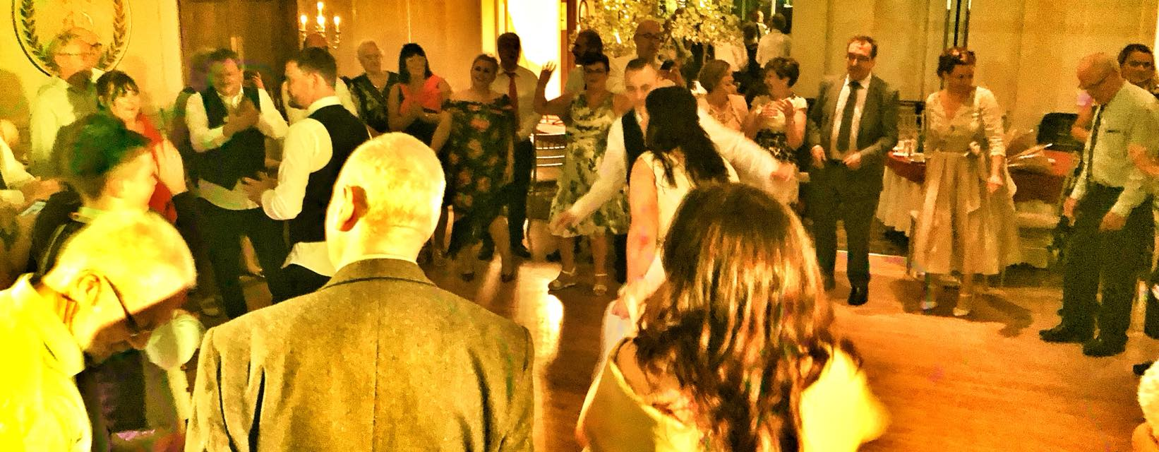 PLAYLIST with Hazel & Christopher at their wedding in The Keadeen on the 9th September 2018