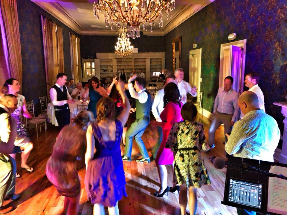 PLAYLIST with Padraig & JP at their wedding in Killashee House Hotel on the 23rd March 2018