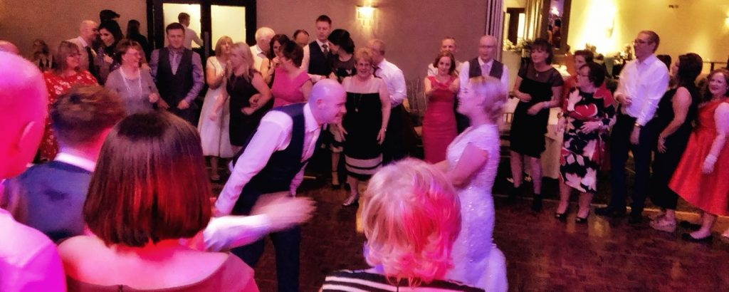 PLAYLIST with Liz & Bryan at their wedding in Tulfarris Resort on the 24th March 2018
