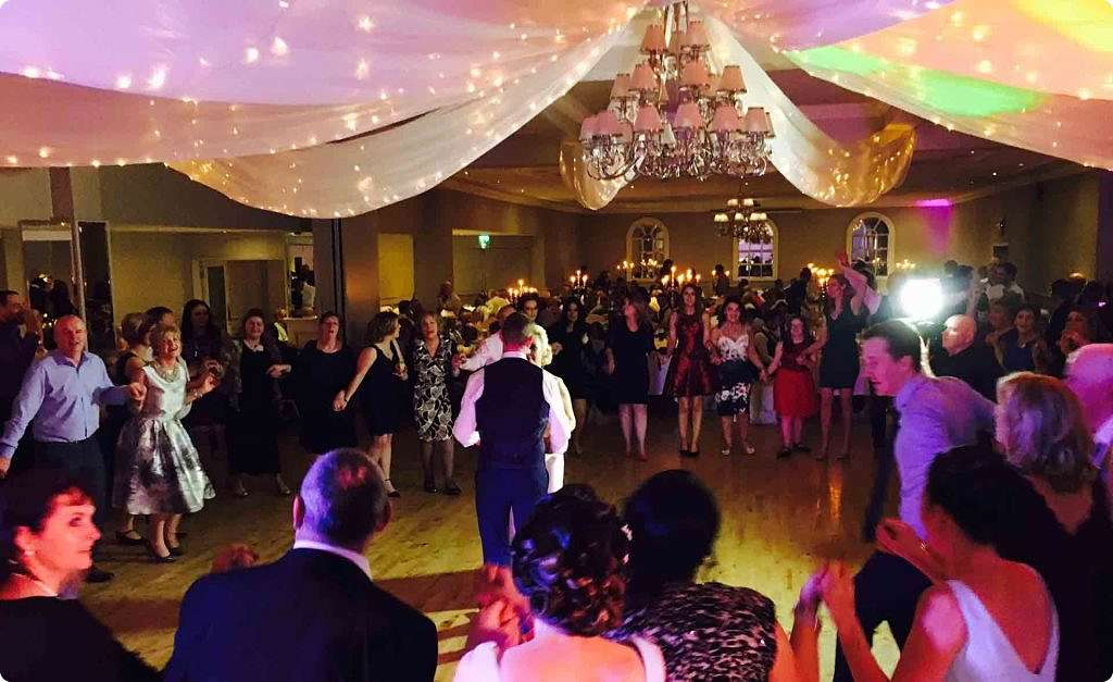 PLAYLIST with Mary & Frankie at their wedding in the County Arms Hotel on the 4th February 2017