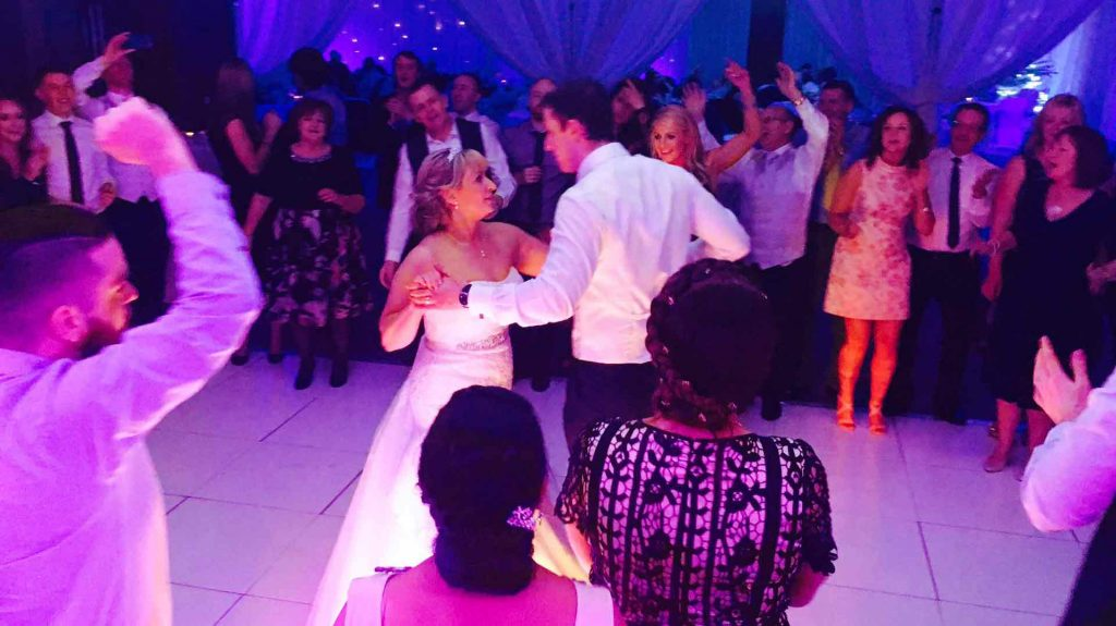 PLAYLIST with Róisín & Barry at their wedding in Castleknock Hotel & Country Club on the 1st December 2016