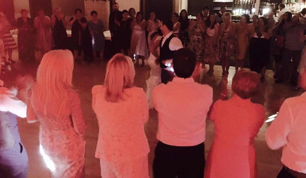 PLAYLIST with Georgina & Stephen at their wedding in the Lakeside Hotel, Killaloe on the 25th August 2016