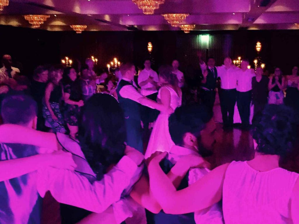 PLAYLIST with Lyndsey & Barry at their wedding in the Lord Bagenal Hotel on the 24th March 2017