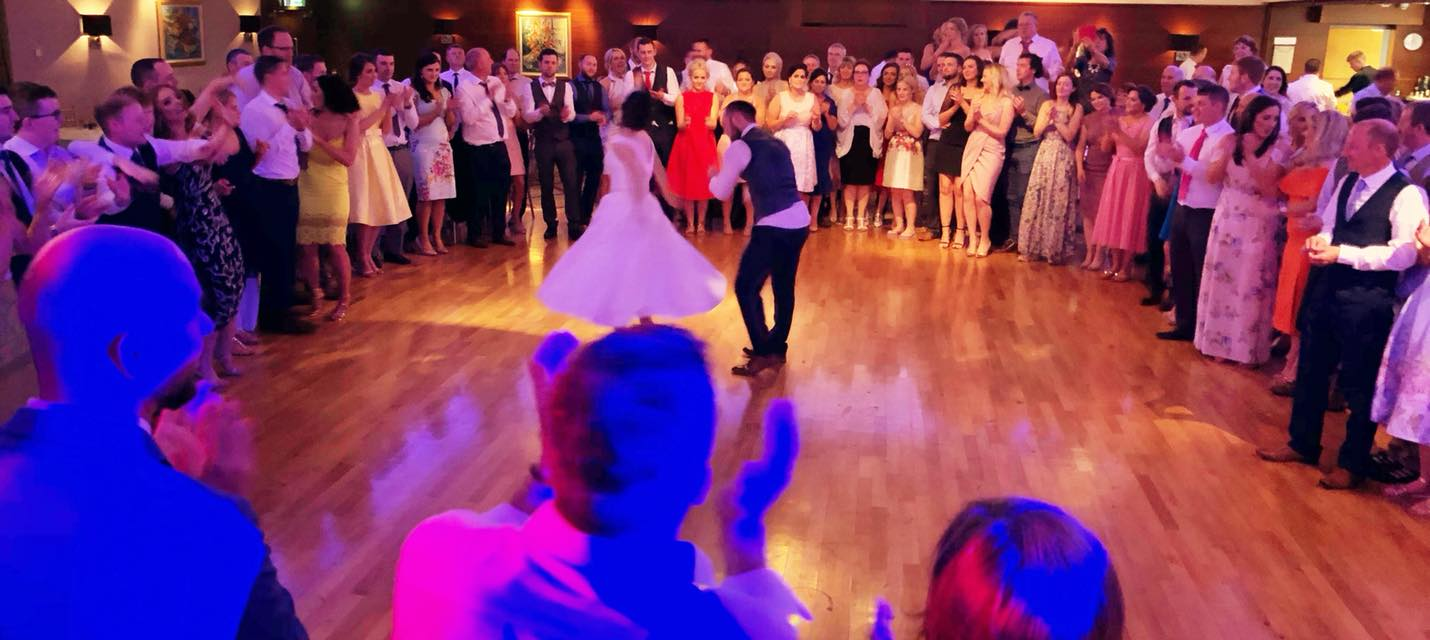 PLAYLIST with Melanie & Pauric at their wedding in Ballymascanlon on the 2nd June 2018