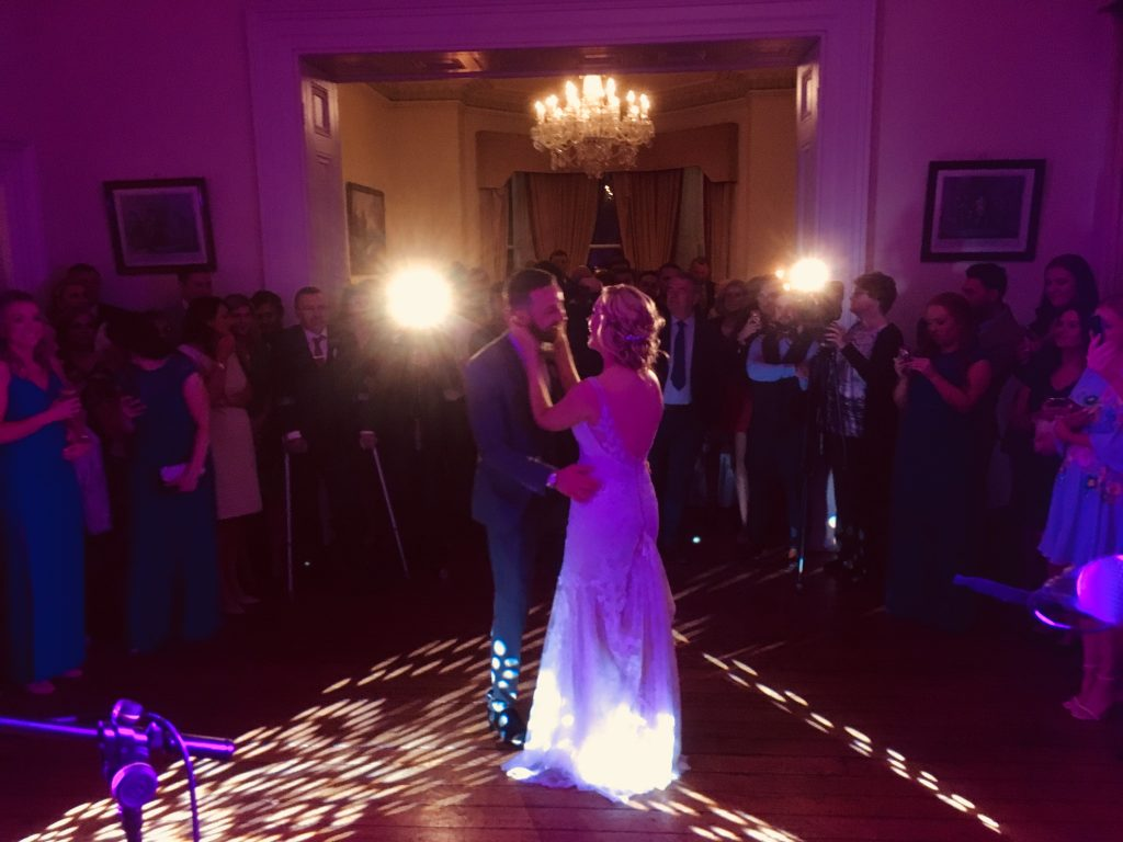 PLAYLIST with Lesley Ann & Declan at their wedding in Balyna House, Moyvalley Estate on the 14th October 2017