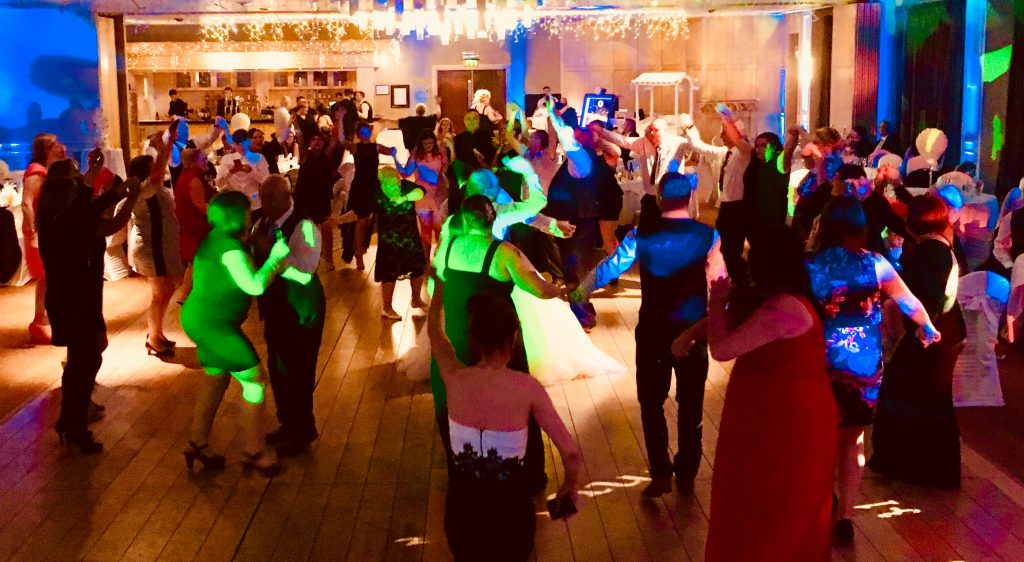 PLAYLIST with Stephanie & Paul at their wedding in The Parkview Hotel on the 3rd November 2017