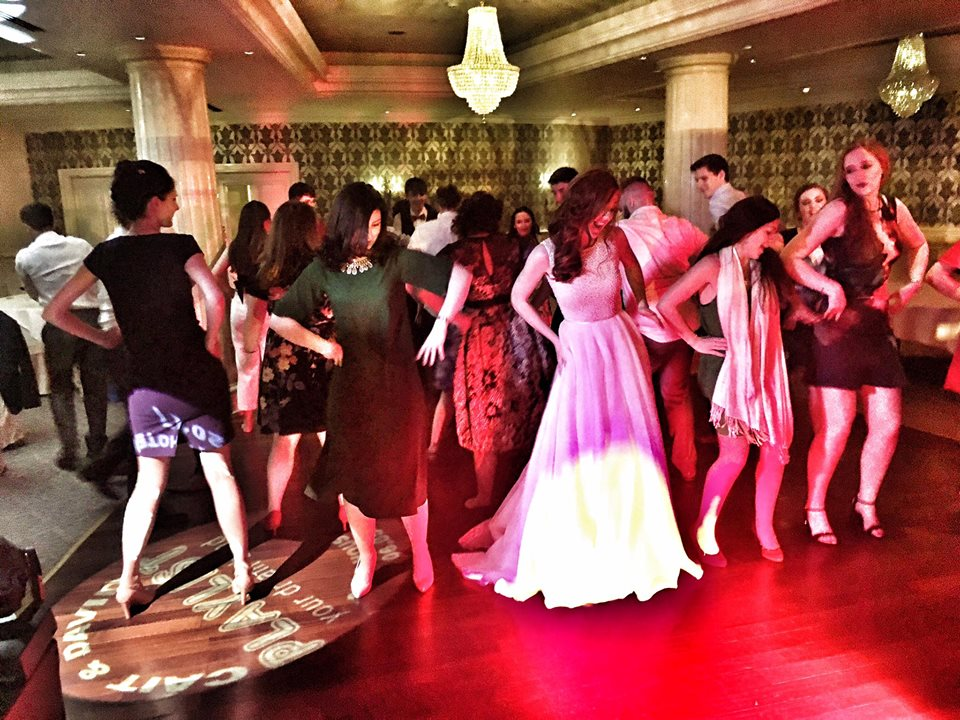 PLAYLIST with Cáit & David at their wedding in the Step House Hotel on the 6th May 2017