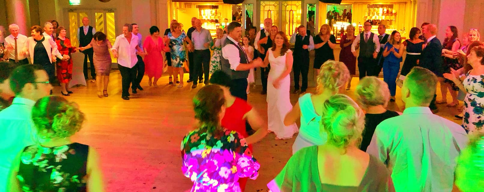 PLAYLIST with Arlene & David at their wedding in Errigal Hotel on the 6th October 2018