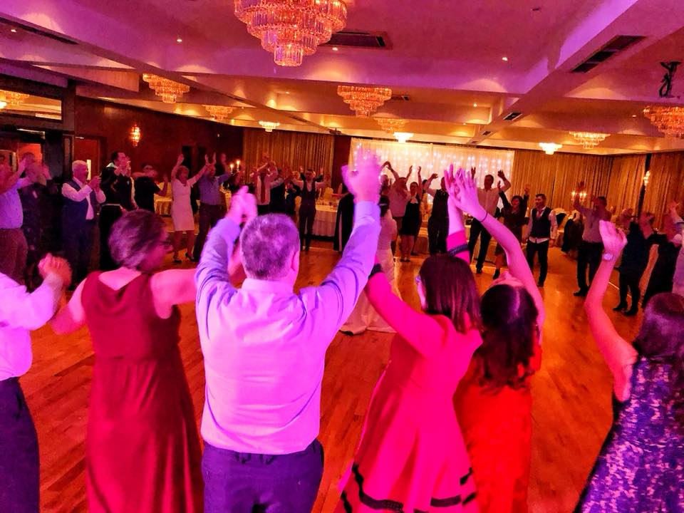 PLAYLIST with Una & Sean at their wedding in the Lord Bagenal Hotel on the 16th November 2018