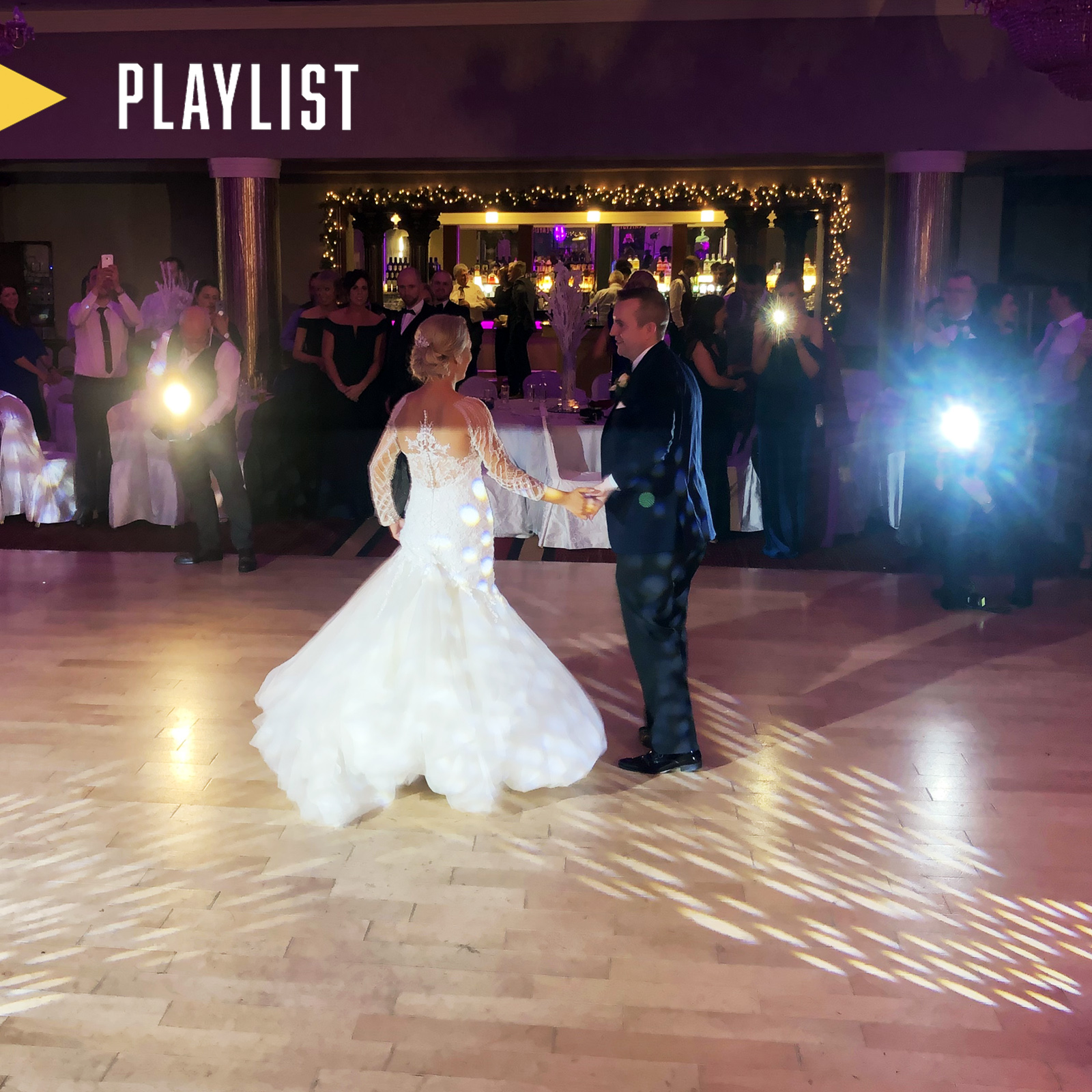 PLAYLIST with Lorna & Jason at their wedding in the Salthill Hotel on the 28th December 2019